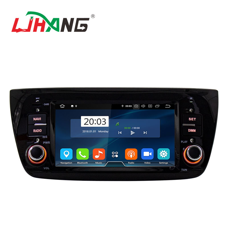6.1 inch car video audio for FIAT DOBLO with Android 9.0 system 4+64G car dvd player with phone link