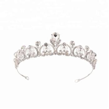 Hot Bridal Hair Accessories Uk Wedding Tiaras Queen Elizabeth Crown For