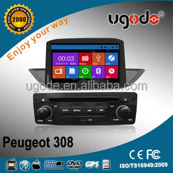 CE Certification for Peugeot 307 Auto Radio with Bluetooth Ipod Radio