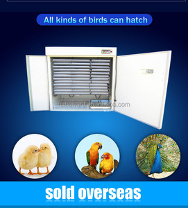 Best selling HHD CE approved full automatic poultry machine incubators/chicken /duck /bird eggs hot sale