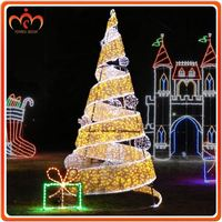 Party decoration solar powered christmas tree