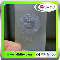 Asset tracking management HF rfid inlay/rfid wet inlay/transponder 13.56mhz