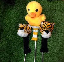Animal Golf Club Head Cover for 1.3.5 Number Golf Clubs