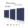 156x156 cell 30v 250w poly solar panel fully automated