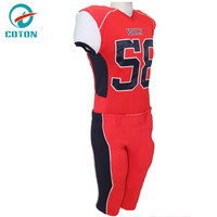 Chinese Manufacturers team american football uniforms Factory price hot sale high quality