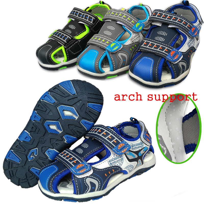 Super New arrival 1pair PU leather Fashion Summer Children Sandals Shoes Kids Baby Soft Shoes