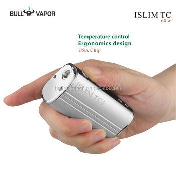 Alibaba Europe Best Selling Islim Tc 60w Box Mod Diy Detachable Battery  Vaporizer Mod Ecig Kit With Magnet Lock - Buy Vaporizer Mod Ecig Kit,Box  Mod