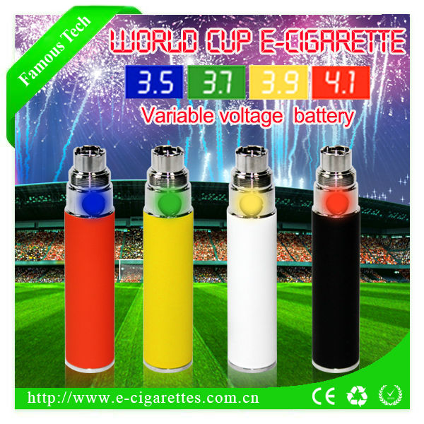 Famoustech ego vv passthrough battery eagle smoke e-cigarette China supplier vape pen