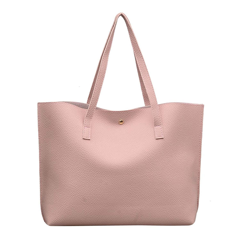 Bluegoog Tassels Leather Shoulder Handbags, Fashion Women's/Lady's PU Leather Purses Satchel Messenger Bags