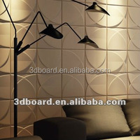 3D Wave Board For Home Decor MDF Wall Decorative Panels