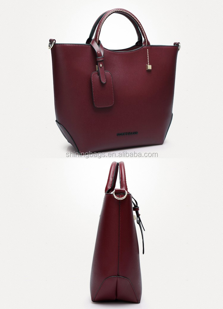 Guangzhou Own Brand Bag Wholesale Designer 1688 Alibaba Con Lady Fashion  Women Leather Hand Bags ace5cc610b065