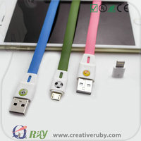Best selling Fast connect Magnetic Micro Usb data Cable Magnetic Charging Cable Magnetic USB Cable