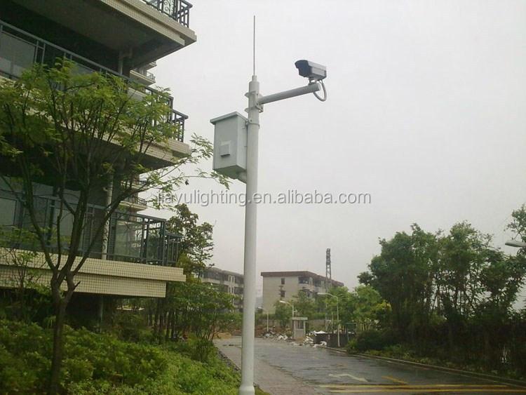 Cctv Camera Mounting Poles Design And Sale 80um 100um