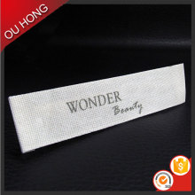 Wholesale Custom Quality Silk Screen Printing Garment Label for T-shirt