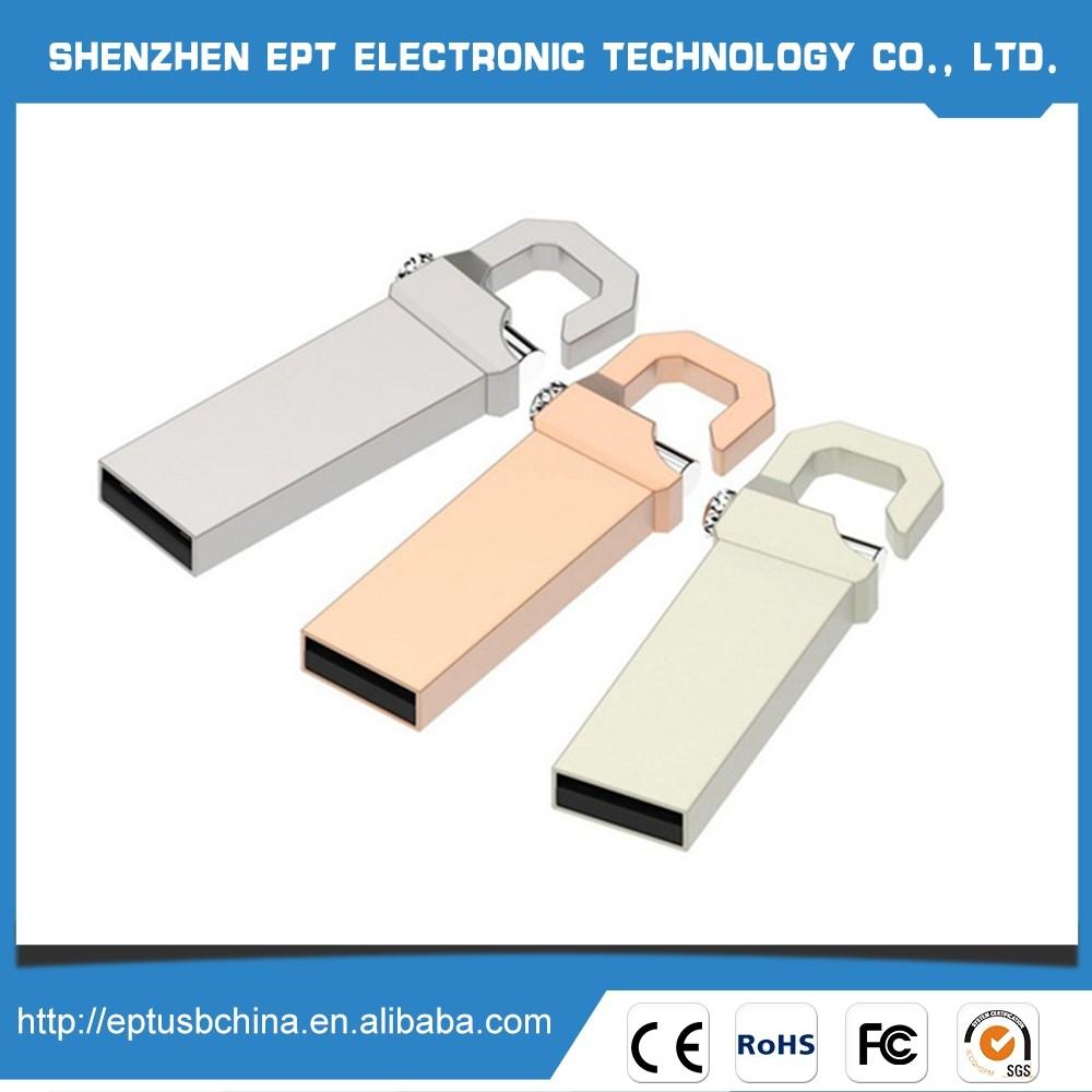 Factory Supply Plastic Buckle Micro Usb Flash Drive