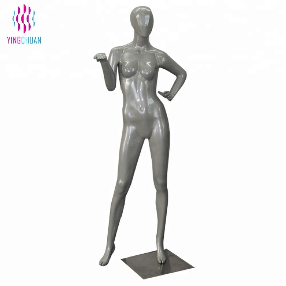 Fashion design fiberglass female mannequin sale