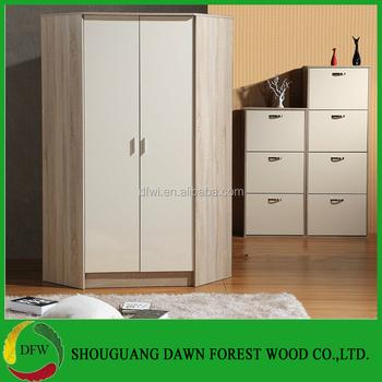 Modern Simple Melamine Door Modern Corner Wardrobe Design - Buy  Wardrobe,Laminate Wardrobe Designs,3 Door Bedroom Wardrobe Design Product  on