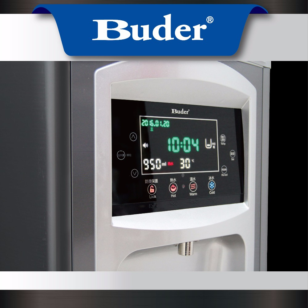 [ Taiwan Buder ] Best Selling Products Touch Screen Stainless Steel Water Tank Hot Cold Warm Water Dispenser