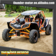 China 4 Seat Dune Buggy 1100Cc 4X4 For Adult