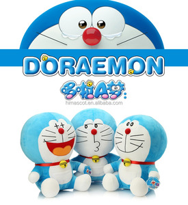 HI CE movie character 30cm Doraemon stuffed plush toy for kids,cartoon character Doraemon made in China