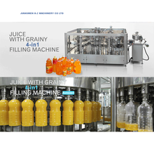 Fully automatic juice hot filling line