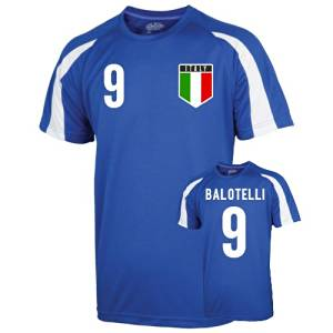 2a22b43c7 Get Quotations · Italy Sports Training Jersey (balotelli 9)