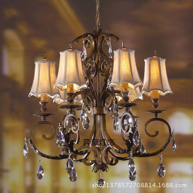 Euro Chandelier Lighting: Modern Chandelier European-style For Living Room Lighting