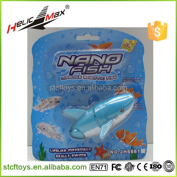 Electric Toys Pet Lifelike Movement Really Swims Nano Robotic Fish Toy