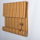 Chinese shutter slats slim strips ready-made bamboo blind