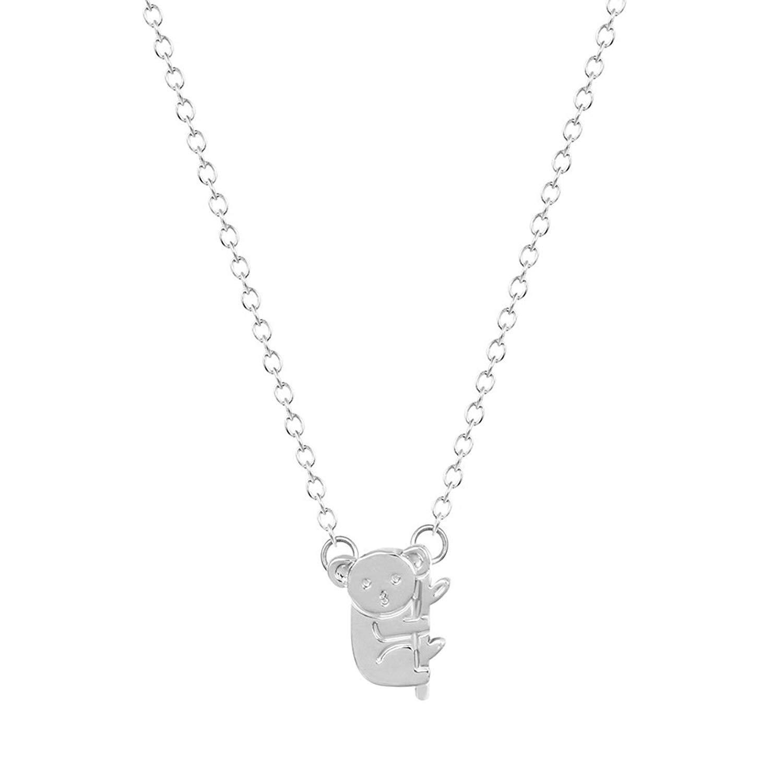 335827817 Get Quotations · METTU Cute Koala Animal Pendant Necklace, Panda Necklace  Jewelry for Girls