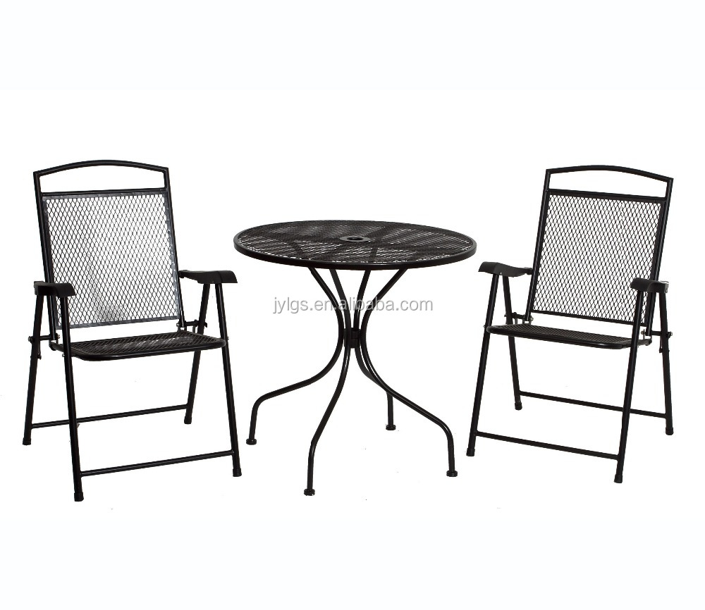 3 Piece Metal Mesh Patio Furniture Outdoor Steel Product On Alibaba