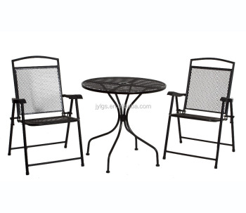 3 Piece Metal Mesh Patio Furniture