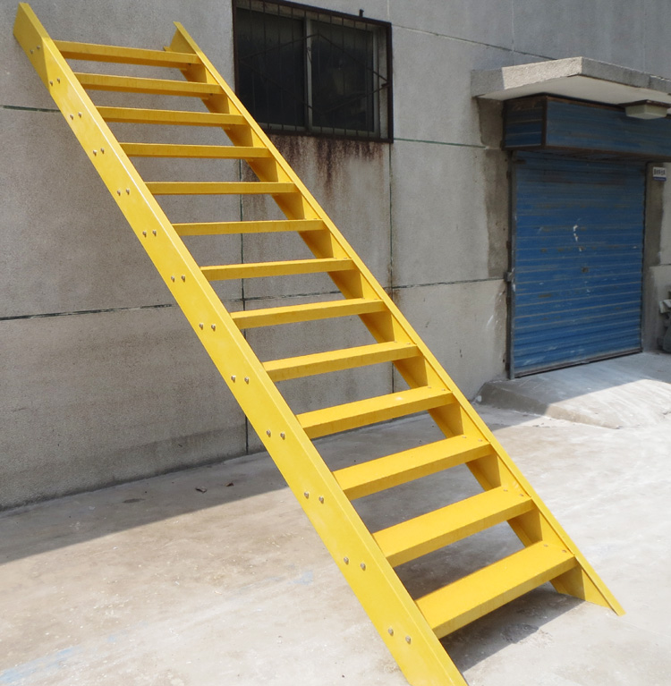 high strength Fiberglass Ladder FRP step stair GRP straight ladder with electric insulation
