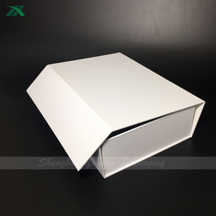 collapsible storage paper box for women bag packaging