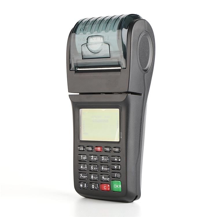 OEM ODM Mobile Top up WIFI Online Food Ordering portable printer pos machine