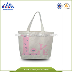advertising plain white small cloth product bag