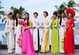 Ao Dai Viet Nam- Vietnamese Traditional Dress - Buy Advn