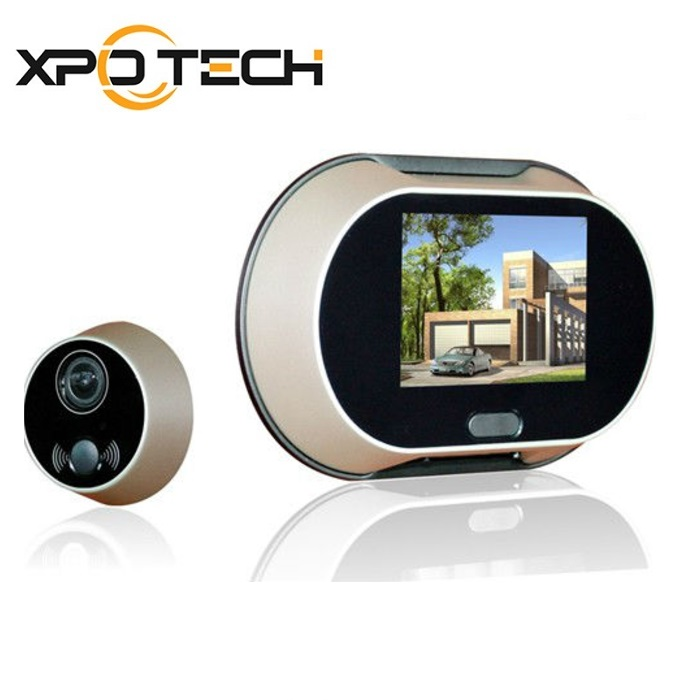 Door Peephole Camera with 3.5'' Color TFT Display