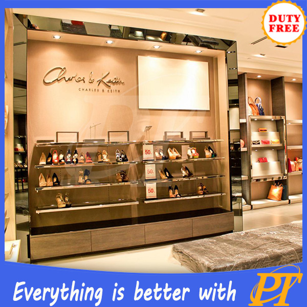 Customized shoe shop decoration ideas,shoes decoration shop for shoes