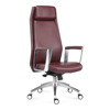 Hangjian leather executive office chair,high quality meeting chair, luxury executive swivel chair office furniture