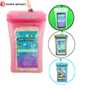 Fashion product IPX8 certificate clear PVC cell mobile phone sling bag