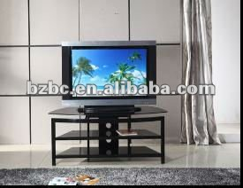 Popular,mordern,europion designers,flat and metal tube LCD TV table tv stands