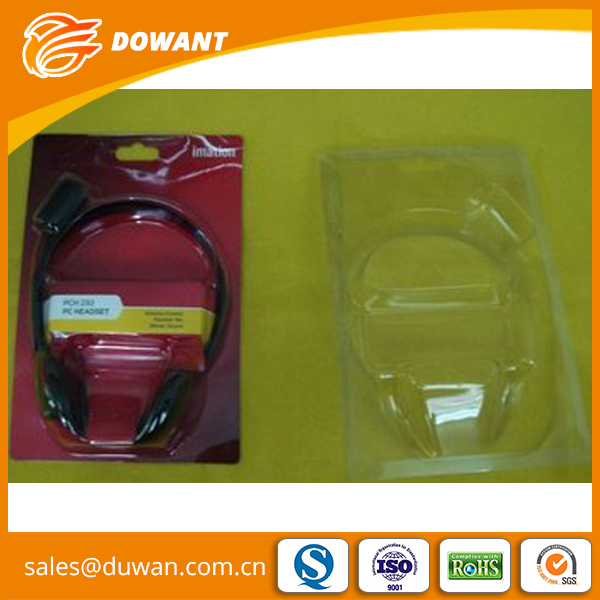 China supplier Waterproof pvc slide blister packaging boxes