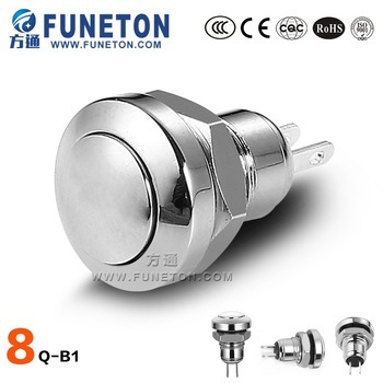 Mounting Hole Size 8mm metal power switch
