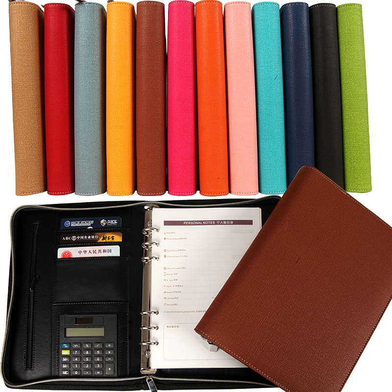 Popular 6 Ring Binder Leather-Buy Cheap 6 Ring Binder