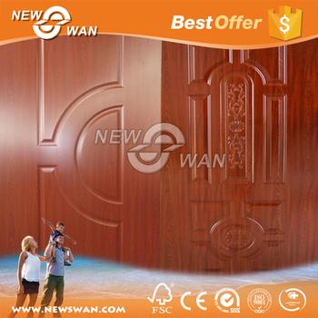 Melamine Door Skin / MDF HDF Molded Door / Laminate Door Skin