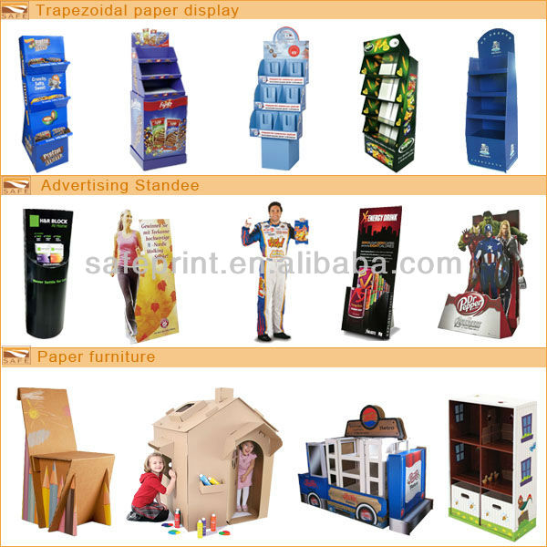Custom OEM Wholesale store display product picture display racks and stands