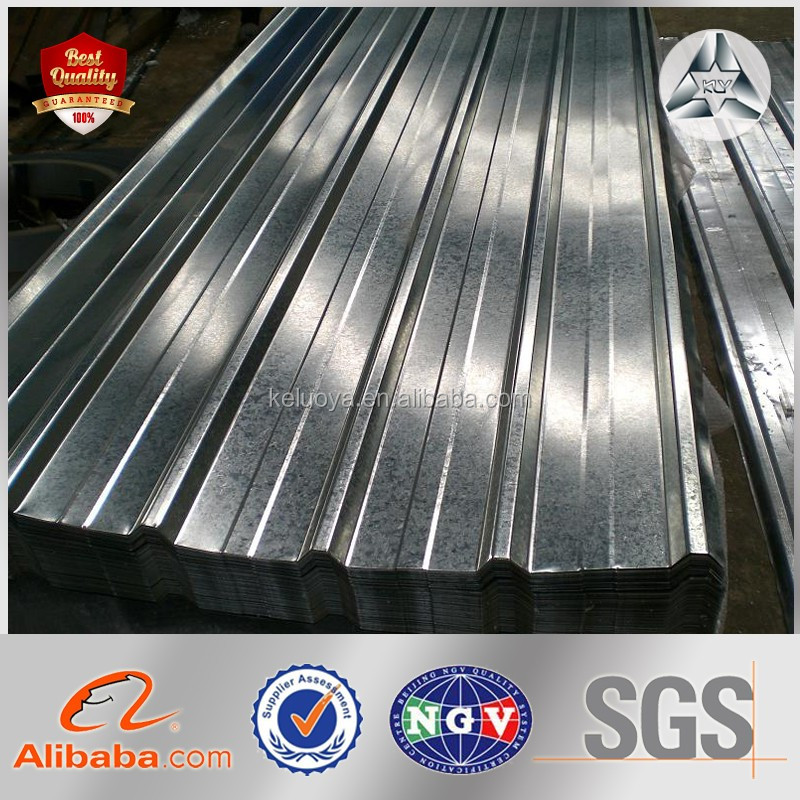 TIANJIN Supplier CR zinc corrugated roofing sheet Made in China Sale