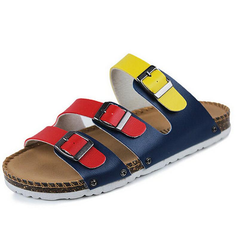 eb9d2305a Get Quotations · Hot Sale Sandals Women Flats Flip Flops Slippers Women Men  Sandal Shoes Female Cork Slipper Birkenstocks