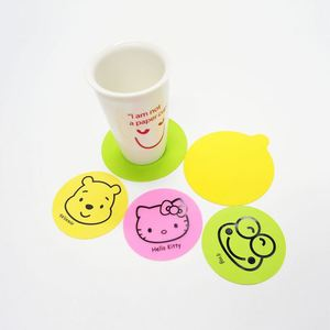 Silicone Coffee Placemat Button Coaster Cup Mug Glass Beverage Holder Pad Mat